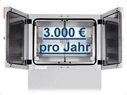 3000 Euro sparen